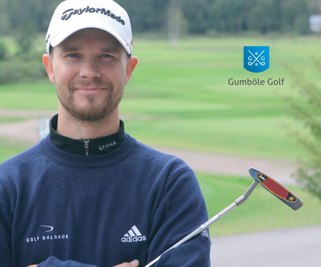 Gumböle Golf esite. Graafinen suunnittelu ja valokuvaus.